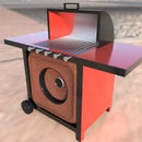 Party Speaker Grill