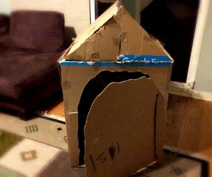 Build a House Out of Old Boxes