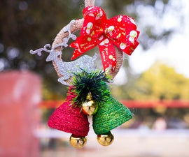 DIY Christmas Bell Decoration