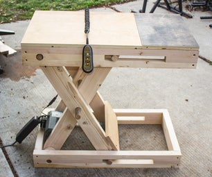 Scissor Bench - Adjustable Height, Motorized Workstation