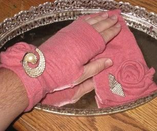 5 Minute Fashionable Fingerless Gloves