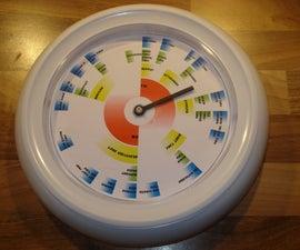 24 Hour Vague Clock