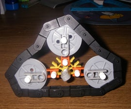 Knex track system for vehicles.