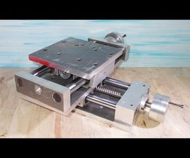 DIY Y Axis Slide Stage for Homemade Milling Lathe CNC Machine