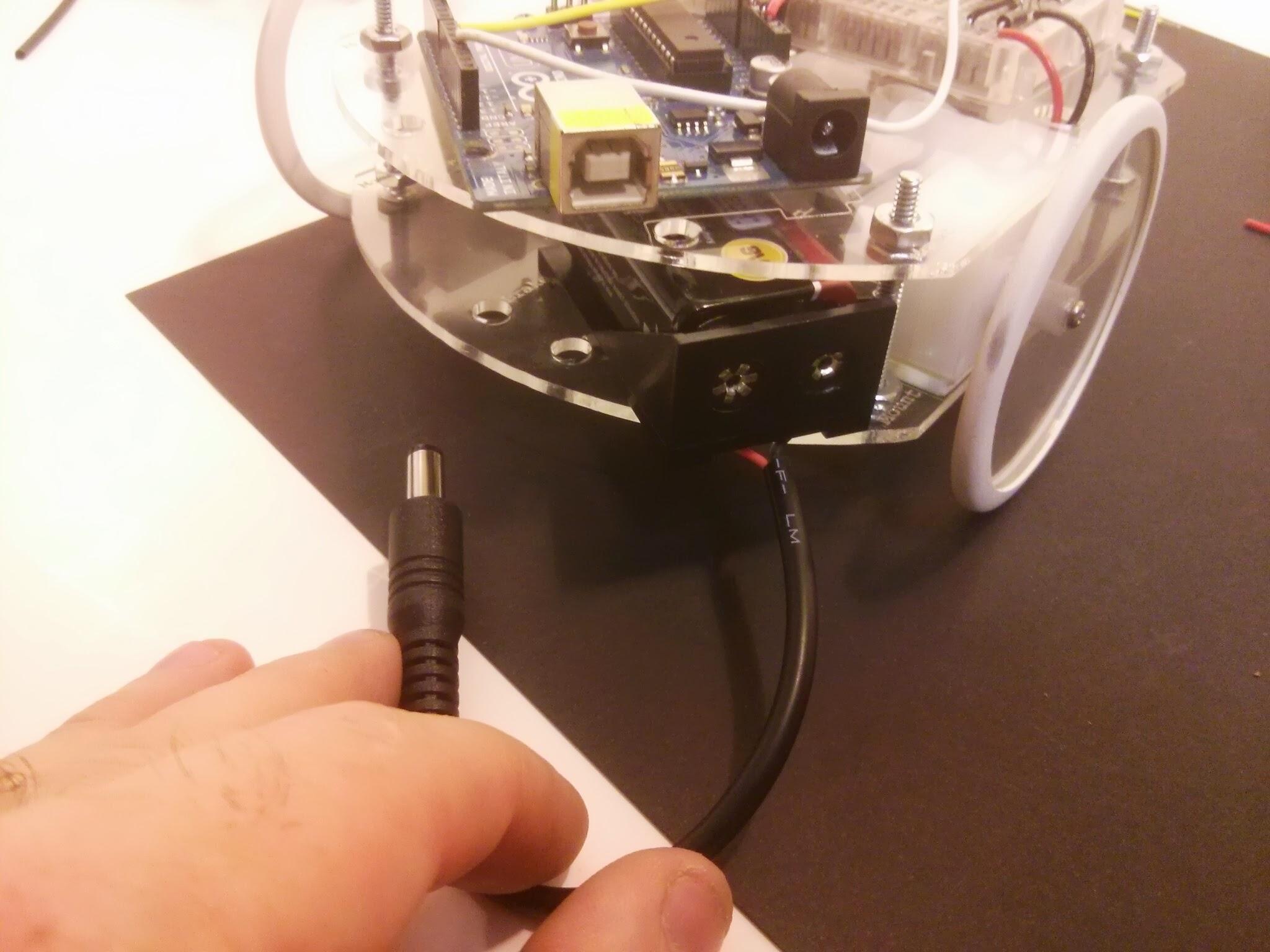 Picture of Insert Battery Pack & Brake Lights!