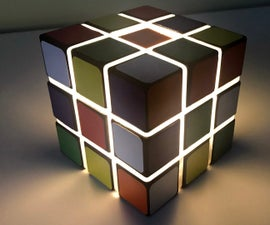Wireless LED Cube Light