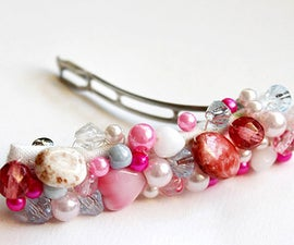 Fabulous valentines day gifts topic-how to make your own hair accessories