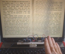 Gesture controlled ebook reader, slideshow image view, and ingame zooming