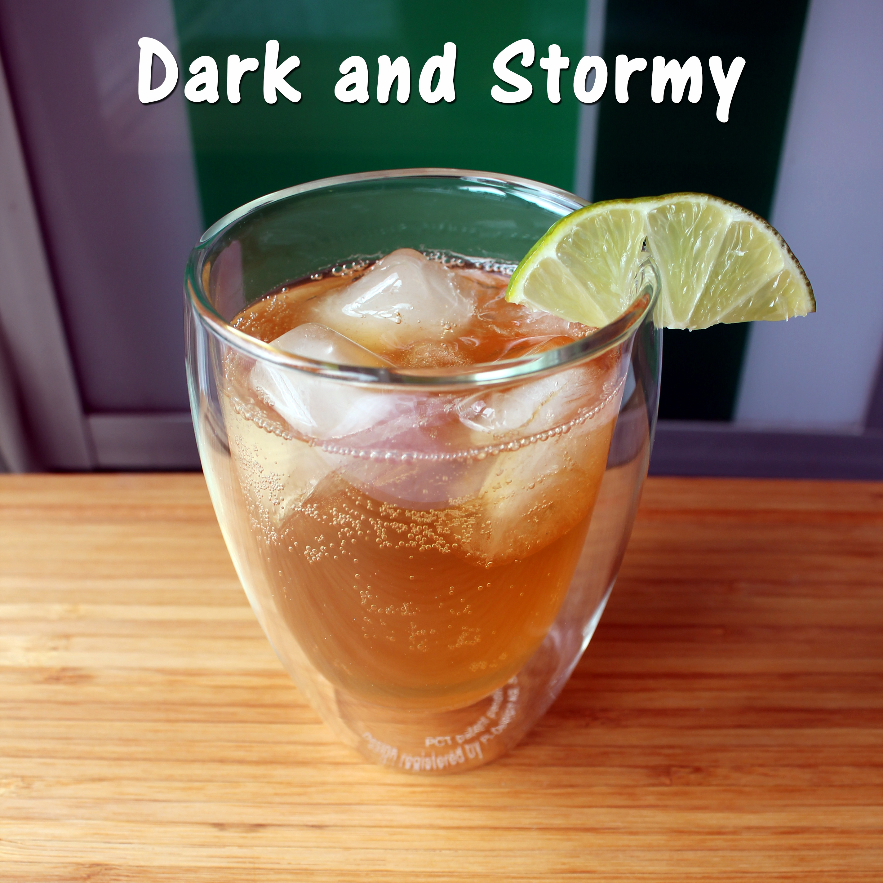 Picture of Dark and Stormy Cocktail