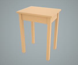 Simple Sturdy Low Cost Furniture