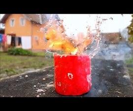 How to Make a Firecracker Using Matches