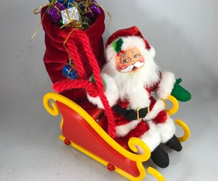 Santa Sleigh, Wifi Edition