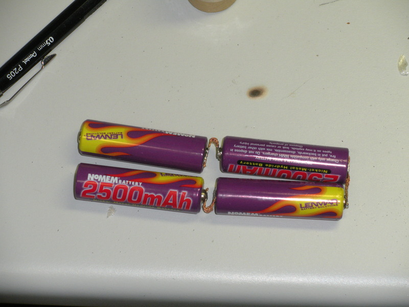 Picture of Solding Together a New Battery Pack & Repacking