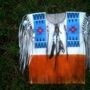 Native American  'Buck Skin Shirt'