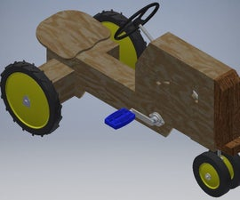 DIY Pedal Tractor