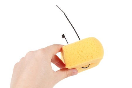 Attach the Sponges