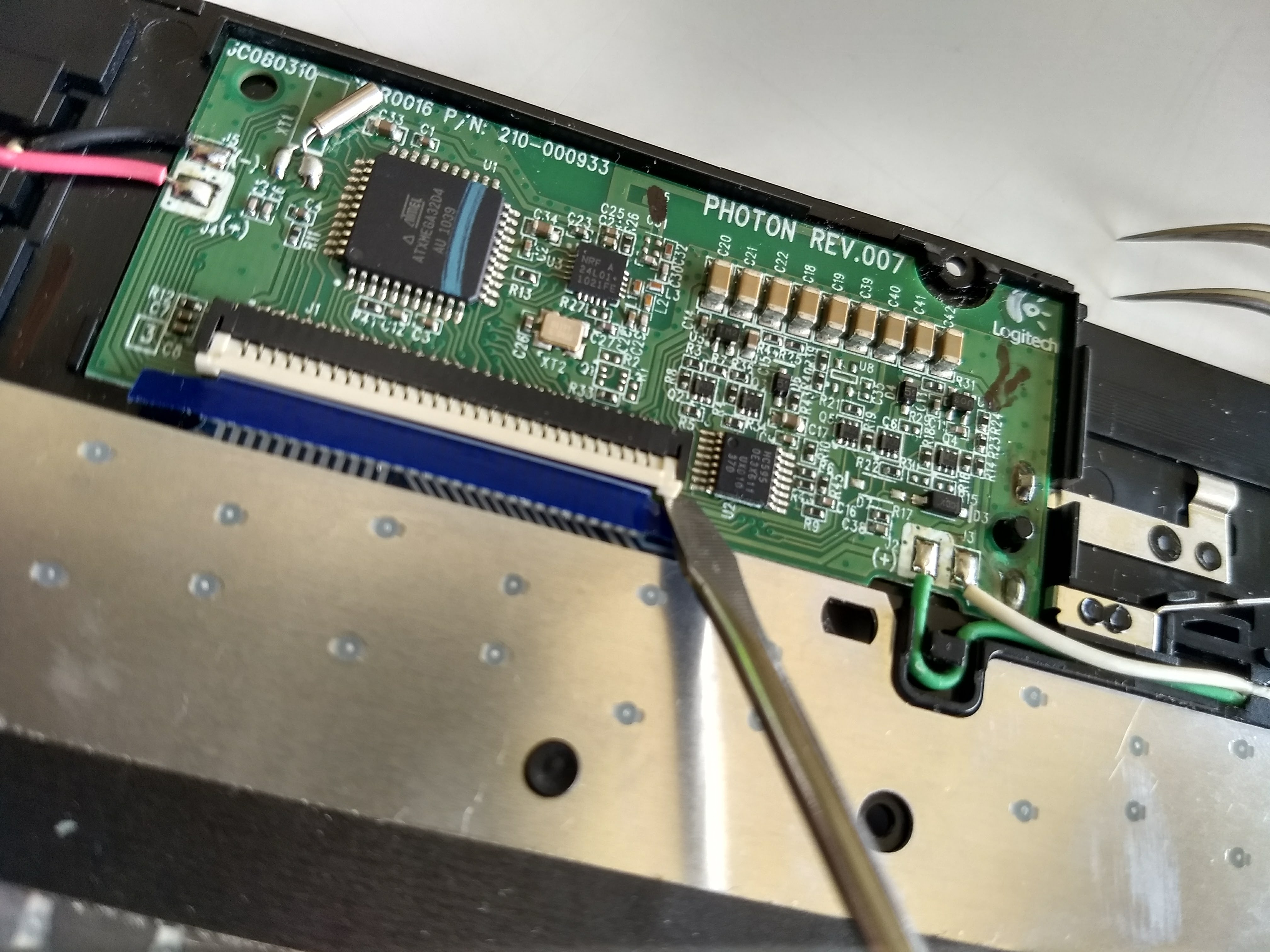 Picture of Circuit Board.