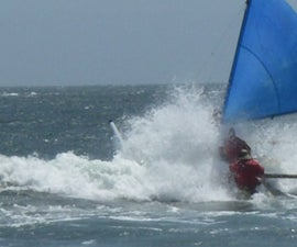 24 foot Sailing Trimaran