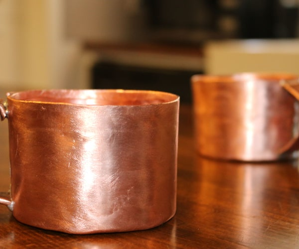 """DIY Copper Cup From 3/4"""" Pipe"""