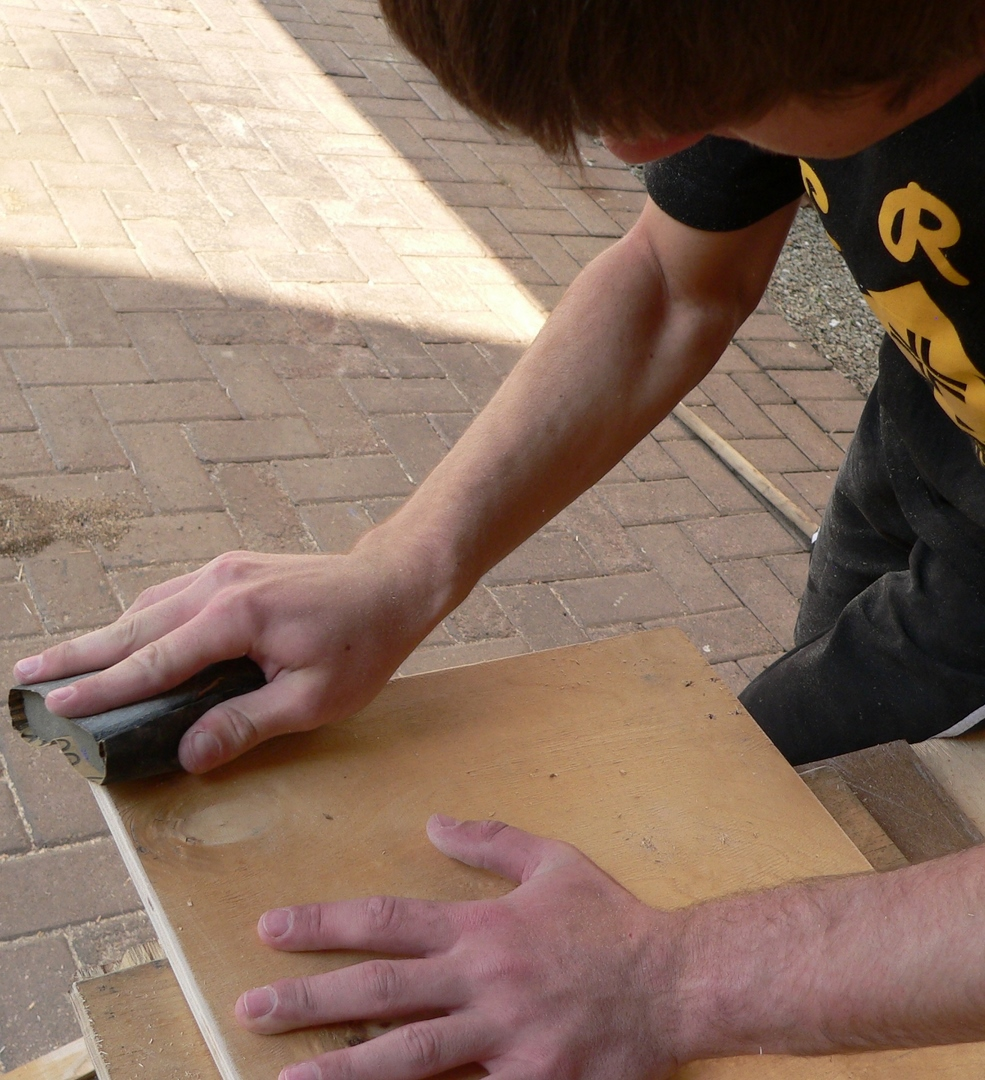 Picture of PREPARING THE WOOD