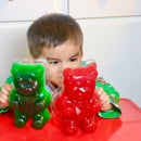 DIY Giant Gummy Bears with JELLO