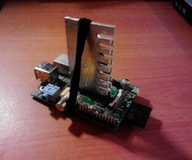 Raspberry PI Model B Simple Zero Cost Heat Sink
