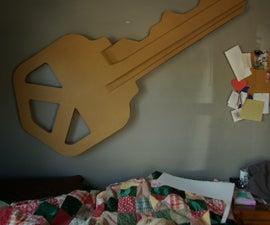 Giant Cardboard Key