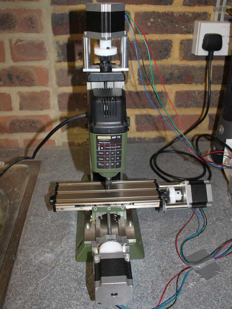 Easy CNC Conversion of a Small Mill: 8 Steps
