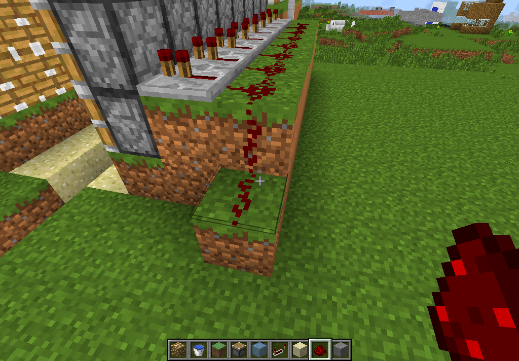 Picture of Step 9: More Redstone.