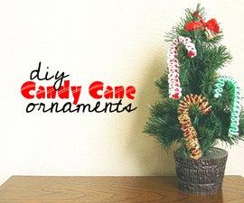 Candy Cane DIY Ornament