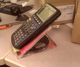 Turn a CD Jewel Case Into a Mobile Device Stand