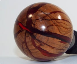 Split Wood and Alumilite Bottle Stopper