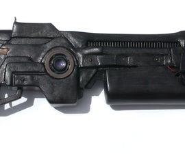 Creating A Prop Gun From Cardboard