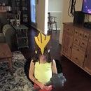 Girl's Hawkgirl Costume