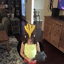 Girl's Hawkgirl Costume