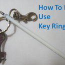 How to easily use key rings!