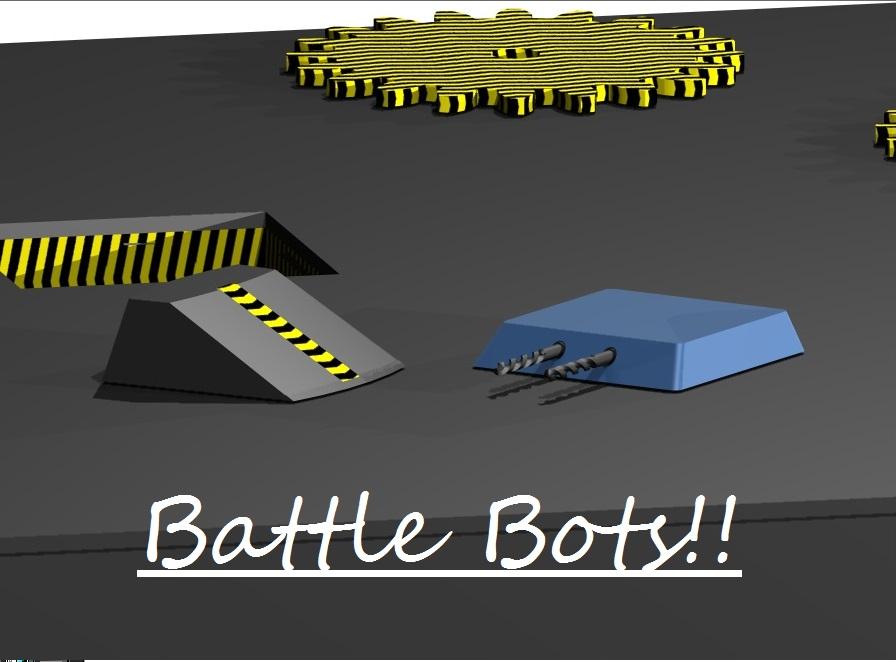 Picture of 3D Printable Battle Bots!! CAD Designed