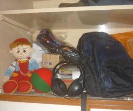 Hidden Burglar Alarming System