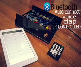 Arduino Room Automation! [BLUETOOTH/SOUND/REMOTE CONTROLLED]