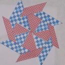 Origami Transforming Ninja Star Shurriken with 8 Points
