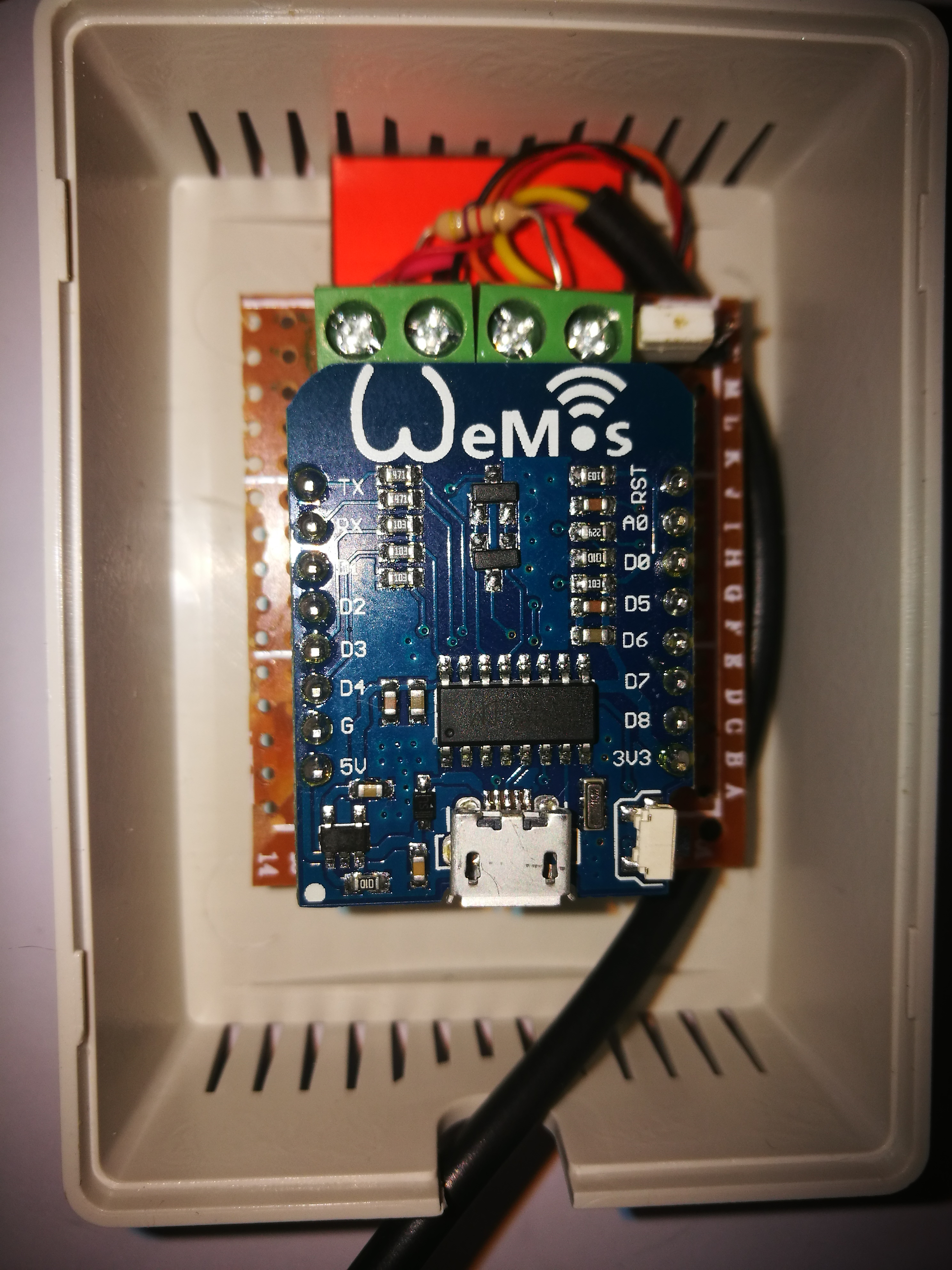 Picture of Hookup the Sensors.