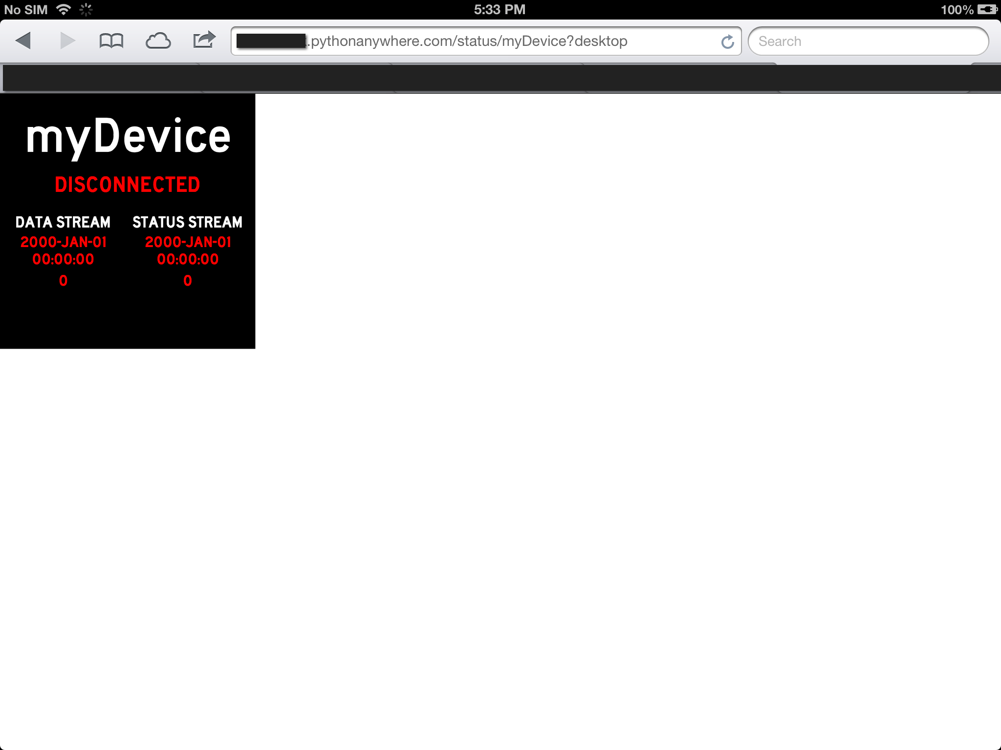 Picture of Launch the Web App!