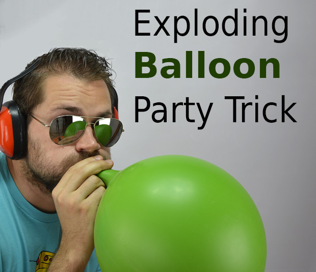 Picture of Exploding Balloon Without Touching It