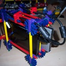 Knex portable hard drive stand