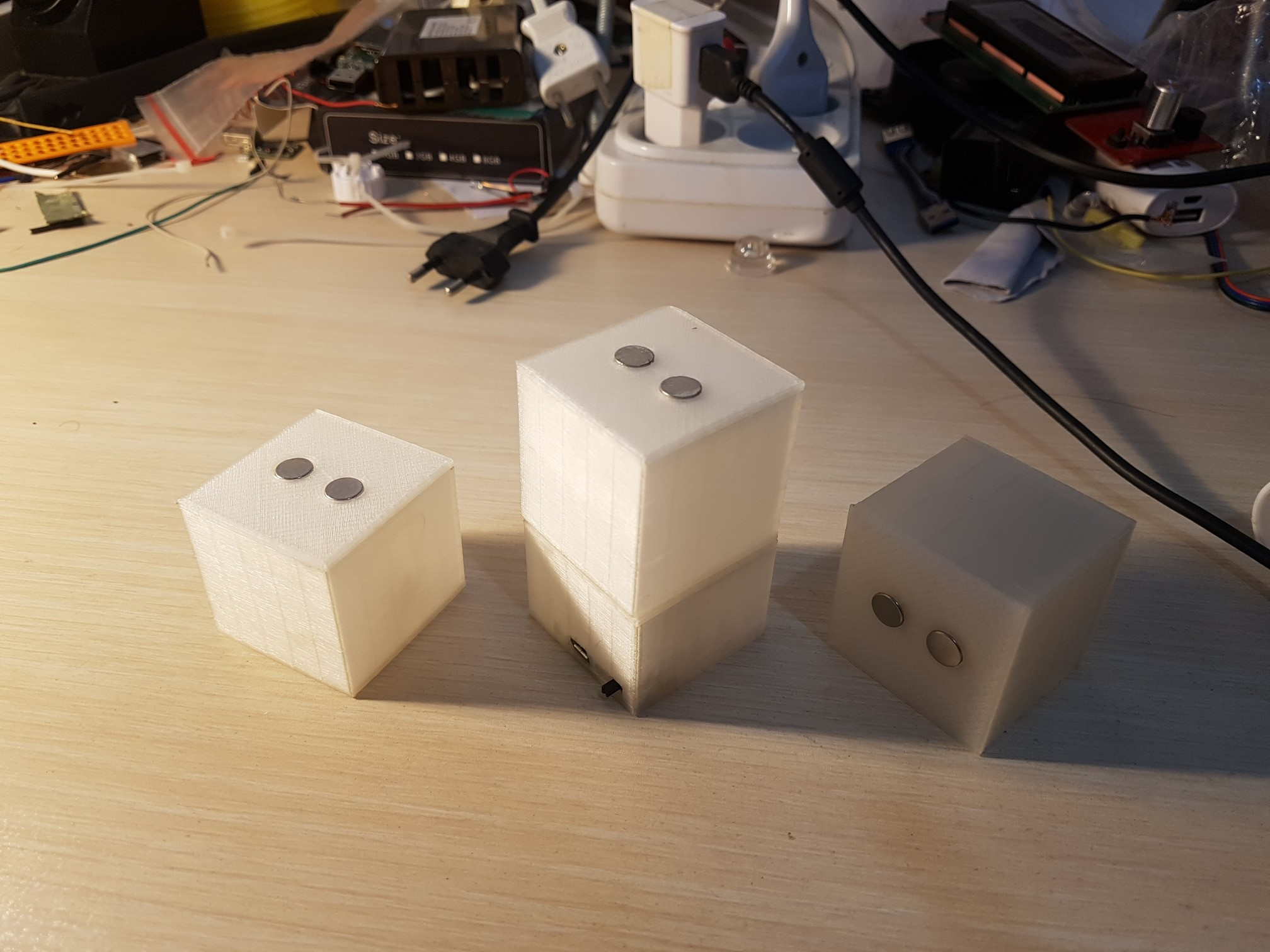 Picture of Led Magnet Box 3d Printer