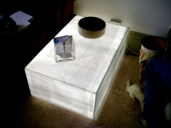 Glow Tank Coffee Table