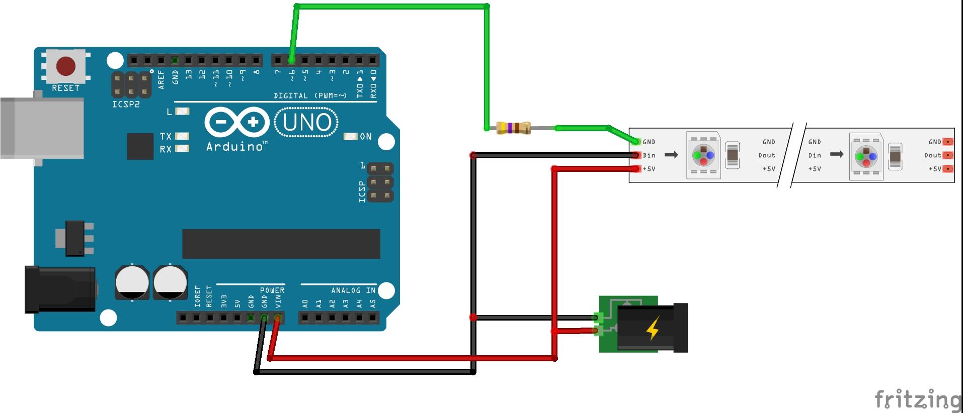 Picture of Diagrama De Conexión De Arduino UNO (Arduino UNO Diagram)