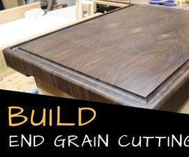 End Grain Cutting Board   a DIY Tutorial
