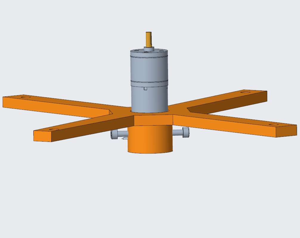 Picture of Tube and DC Motor Holder