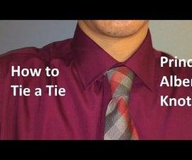 Tutorial: How to Tie a Tie - Prince Albert Knot